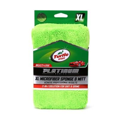 Turtle Wax Platinum 2-in-1 Microfiber Car Wash/Scrub XL Sponge