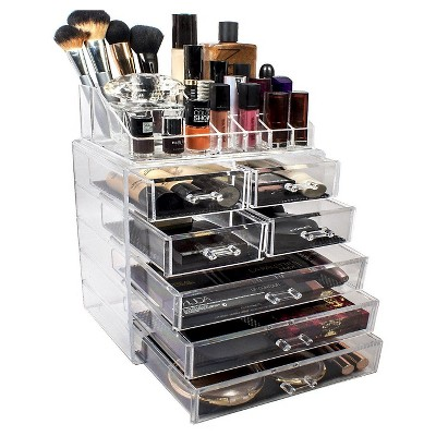 Sorbus Makeup Storage Organizer - Medium - Set 1