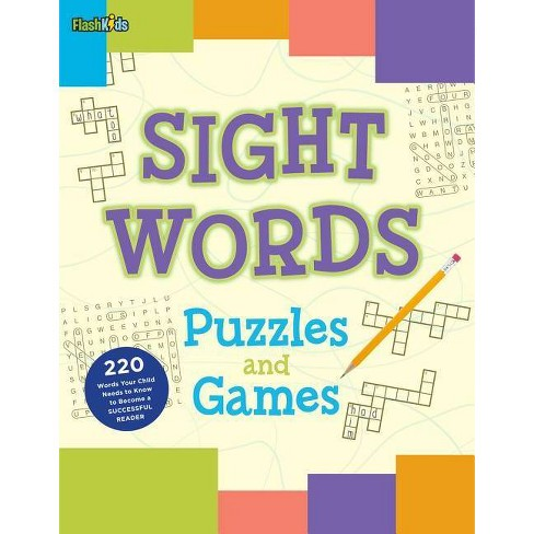 Sight Words Puzzles and Games - by  Shannon Keeley (Paperback) - image 1 of 1