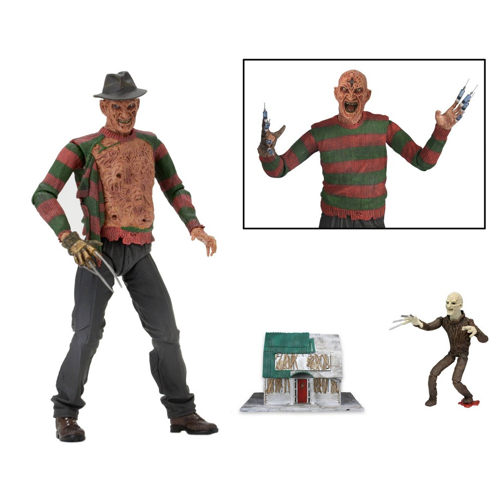 "Image of ""A Nightmare on Elm Street 3: Dream Warriors Freddy Krueger 7"""" Action Figure"""