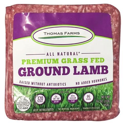 Thomas Farms Ground Lamb - 16oz