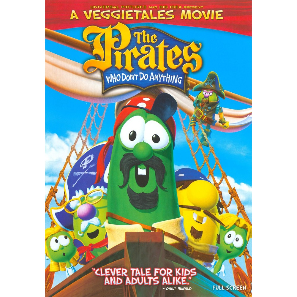 Pirates Who Don't Do Anything: A Veggie Tales Movie (dvd_video)