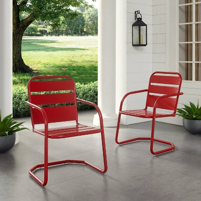 Brighton 2pk Metal Chair - Crosley