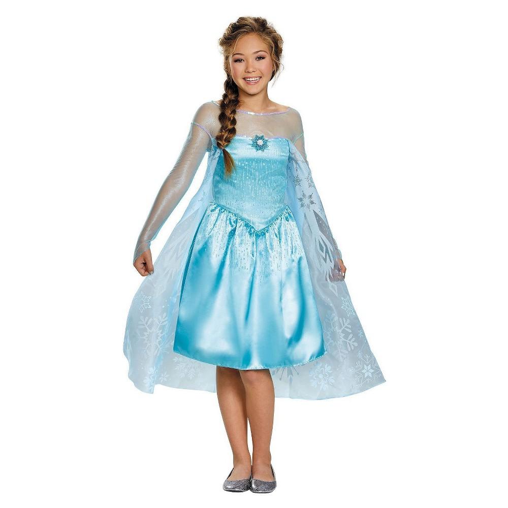 Frozen Kids' Elsa Costume - L(12-14), Girl's
