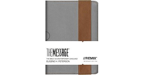 Message : Remix, The Bible in Contemporary Language, Gray/Tan (Paperback) - image 1 of 1