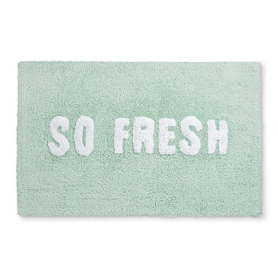 Tufted You Look Awesome Bath Rugs And Mats Mint Green - Room Essentials™