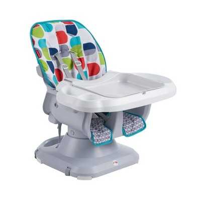 Fisher-Price SpaceSaver High Chair - Light Gray