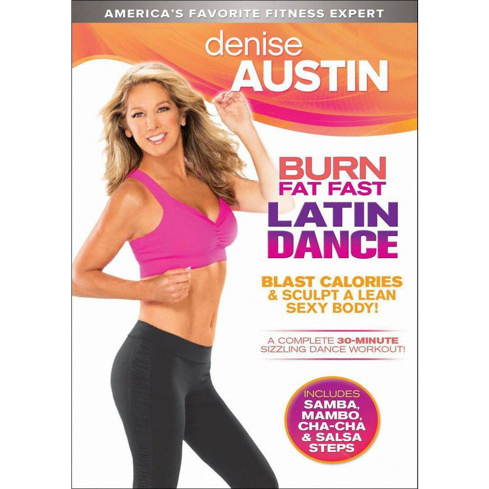 Denise Austin:Burn Fat Fast Latin Dan (Dvd)