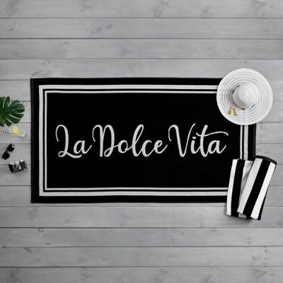 La Dolce Vita Beach Towel - Martha Stewart