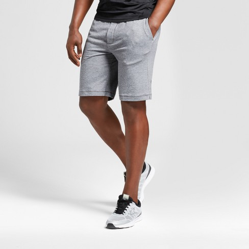 9bcd2d6f75f7 Men s Soft Touch Shorts - C9 Champion® Forged Steel Gray Heather S ...