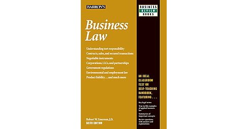 Business Law (Revised) (Paperback) (Robert W. Emerson) - image 1 of 1