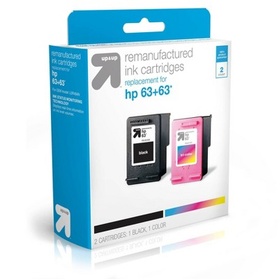 Remanufactured Ink Cartridge - Compatible with HP 63 Ink Series Printers - up & up™
