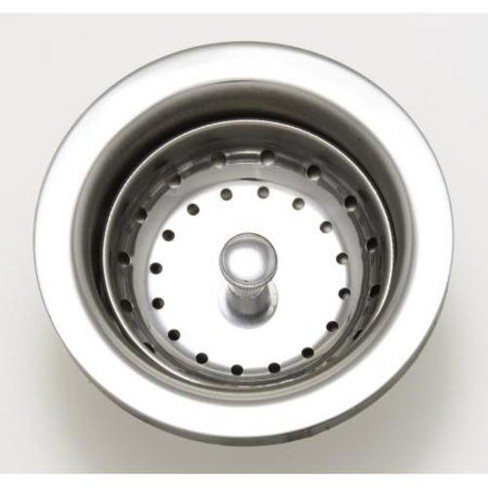 PROFLO PF647003 Kitchen Sink Drain Assembly and Basket Strainer - Chrome