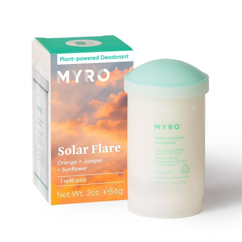 Image of Myro Solar Flare Deodorant Refill Pod - 2 oz