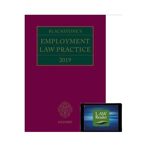 Blackstone's Employment Law Practice 2018 - 10 (Paperback)