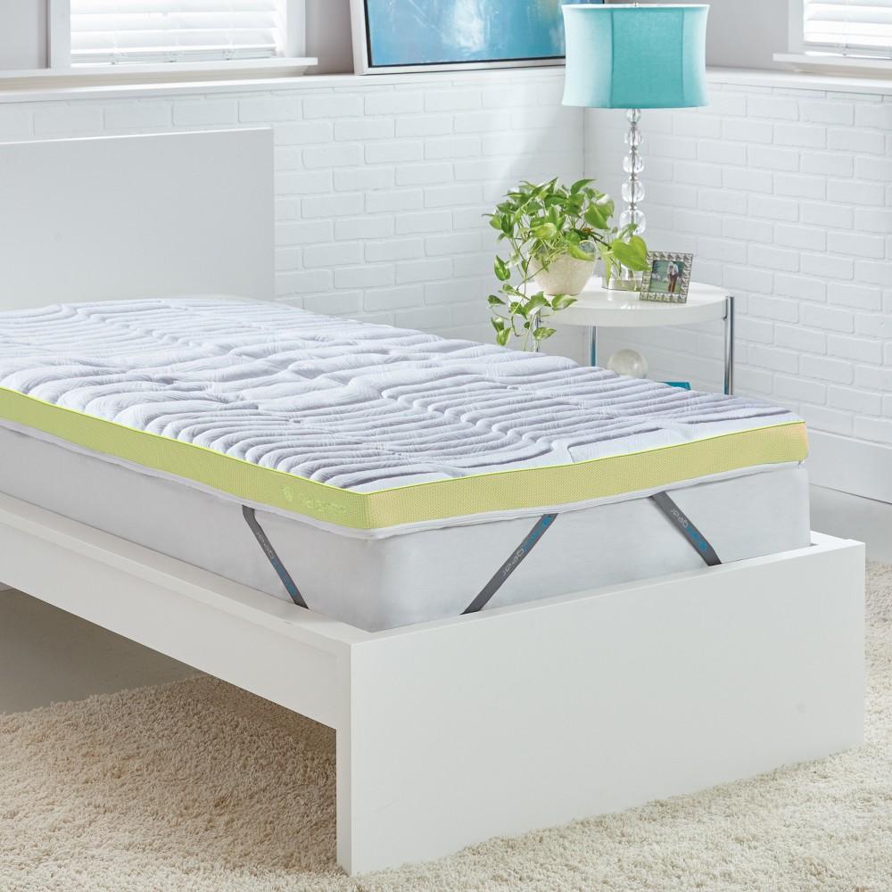 White Balance Dri-Tec 3 Boost Mattress Pad (Full) - Bedgear