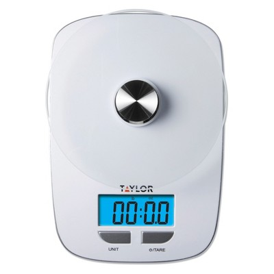 Taylor 11 lb Digital Food Scale with Blue Blacklight