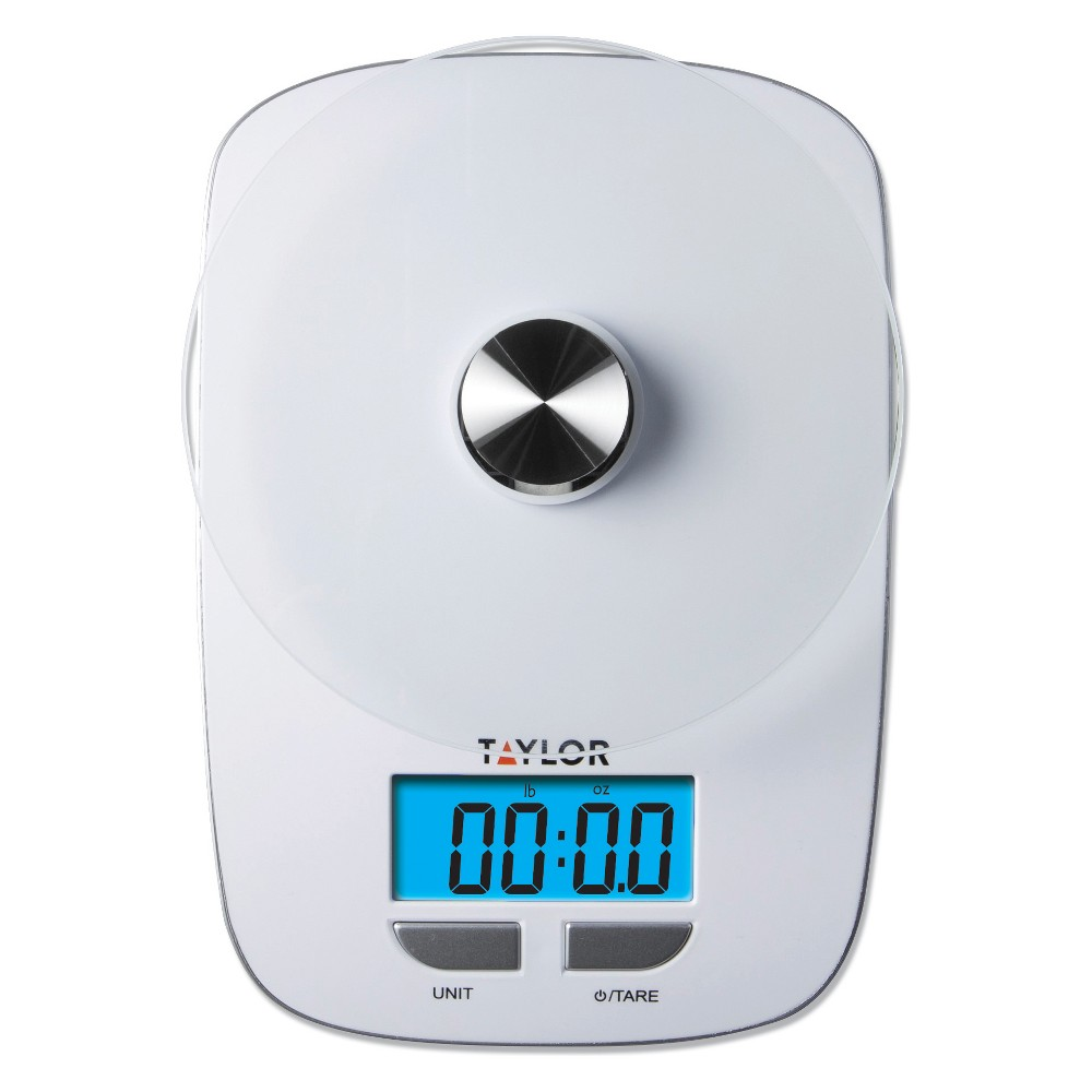 Reviews Taylor 11 lb Digital Food Scale with Blue Blacklight