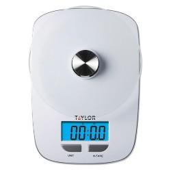 Taylor 11 lb Digital Food Scale with Blue Blacklight