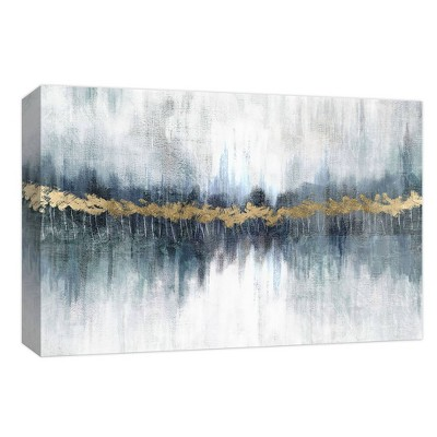 Frozen Gold Gallery Wrapped Canvas - PTM Images