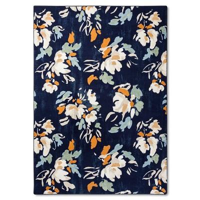 Naples Floral 7'x10' Navy - Threshold™