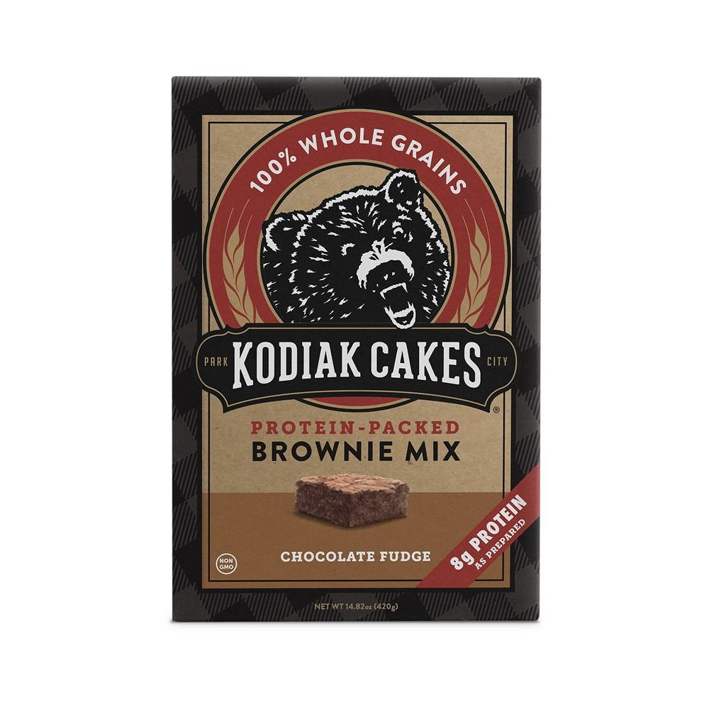 Kodiak Cakes Chocolate Fudge Brownie Mix - 14.82oz