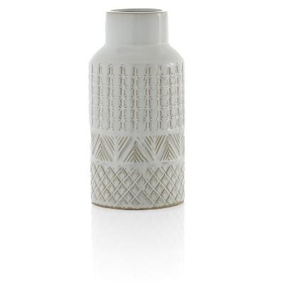 Medium White Austin Vase - Shiraleah