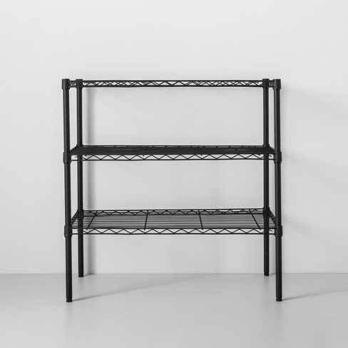 3 Tier Wide Wire Shelf - Made By Design™ Wire Shelves And Ckets on
