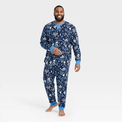 Men's Hanukkah Pajama Set - Wondershop™ Blue