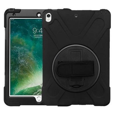 "MYBAT For Apple iPad Air (2019)/Pro 10.5"" Black Hard TPU Hybrid Plastic Case w/stand"