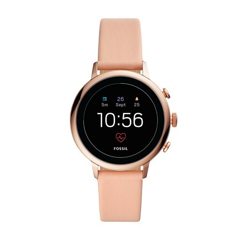 Fossil Gen 4 Smartwatch Venture HR 40mm - Rose Gold-Tone with Blush Leather - image 1 of 4