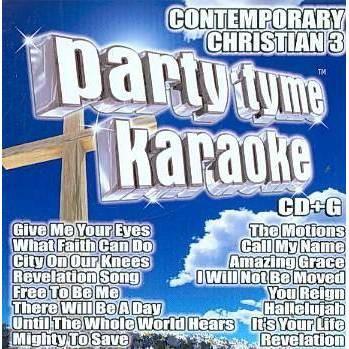 Party Tyme Karaoke - Party Tyme Karaoke - Contemporary Christian 3 (16-song CD+G)
