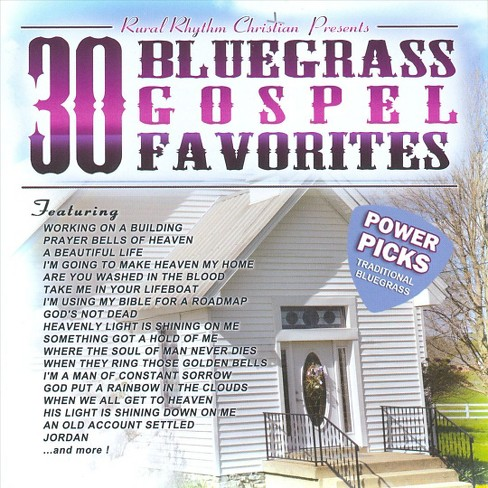 Various - 30 Bluegrass Gospel Favorites Power P (CD) - image 1 of 1