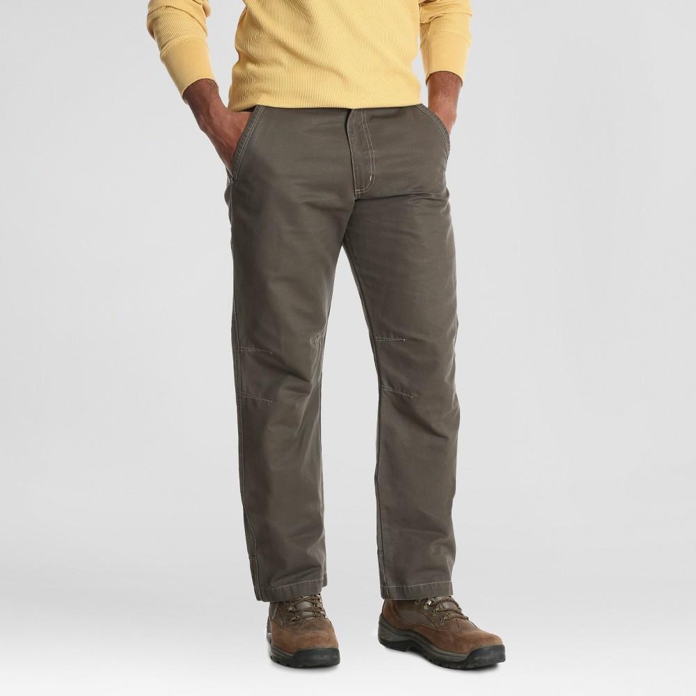 Wrangler Men's Outdoor Kingman Pants - Toffee 30x30, Brown