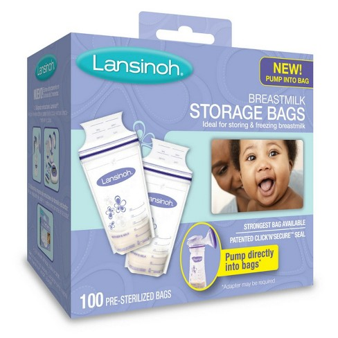Lansinoh Milk Storage Bag - 100ct - image 1 of 5