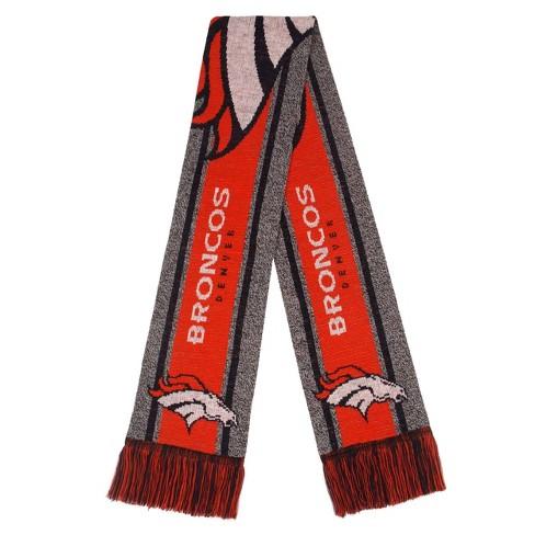 NFL Denver Broncos Gray Big Logo Scarf - image 1 of 2