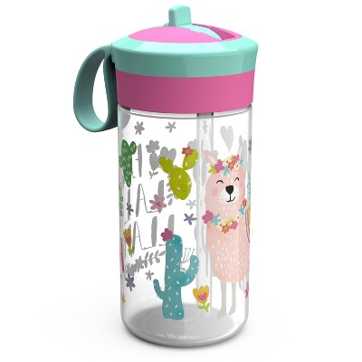 Zak Designs Portable Drinkware - 2pk Pink