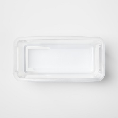 Slim Plastic Shoe Bin Clear   Made By Design™ by Made By Design