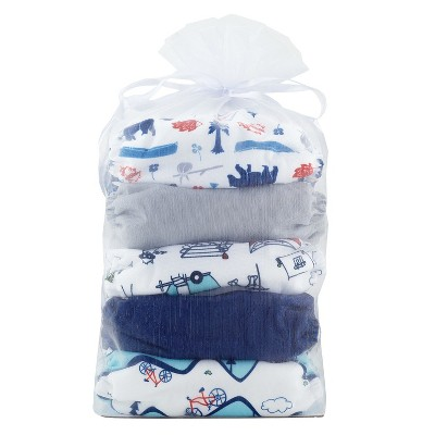 Thirsties Natural All-in-One Snap Outdoor Adventure Diaper Collection, One Size - Adventure Trail