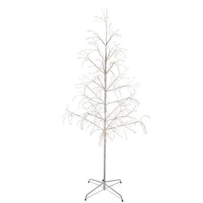Kurt Adler 6' White Birch Bark with LED Fairy Lights Tree