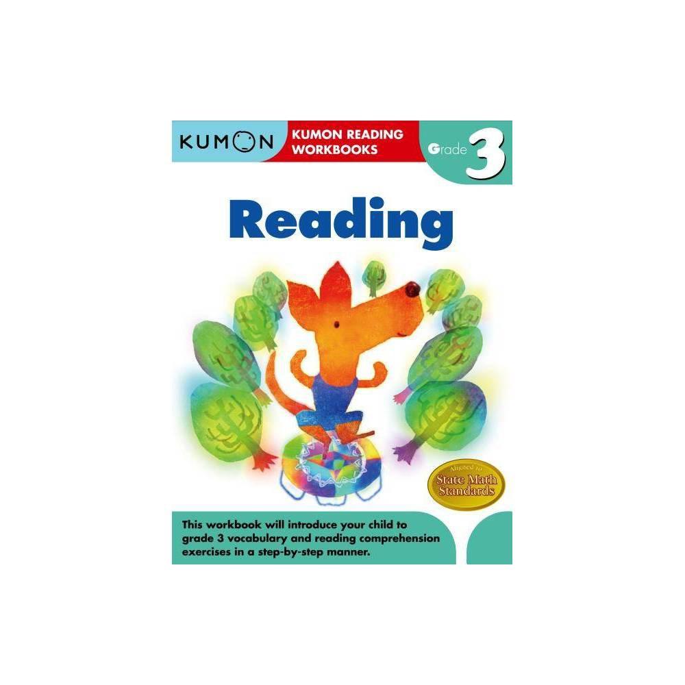 Reading Grade 3 - (Kumon Reading Workbooks) by Eno Sarris (Paperback)