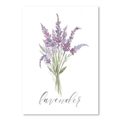 Americanflat Lavender by Cami Monet Poster