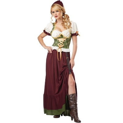 California Costumes Renaissance Wench Adult Costume