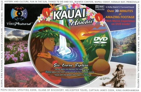Kauai, Hawaii Video Postcard (dvd_video) - image 1 of 1