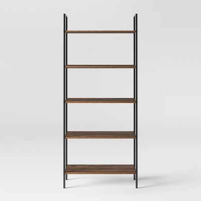 72  Loring 5 Shelf Ladder Bookcase Walnut - Project 62™