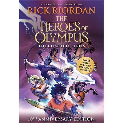 The Heroes of Olympus Set - 10th Edition by Rick Riordan (Mixed Media Product)
