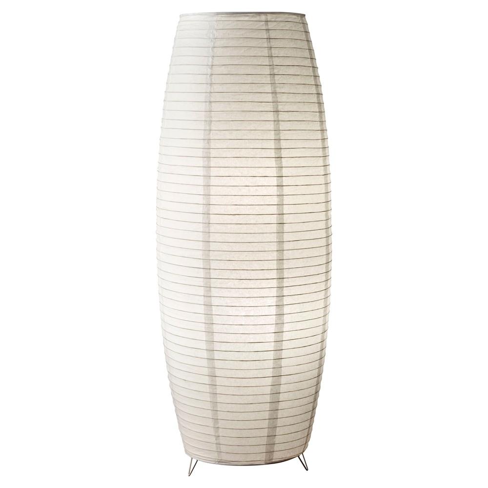 Image of Adesso Suki Floor Lantern - Off-White