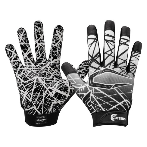 Cutters Game Day Receiver Gloves - Youth S - Black - image 1 of 1