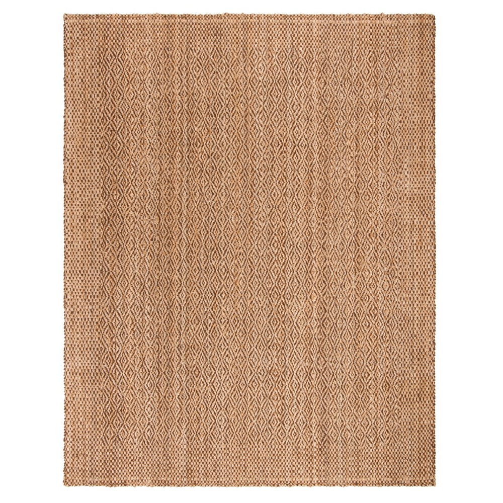 Natural/Brown Geometric Woven Area Rug 9'X12' - Safavieh, Naturalnbrown