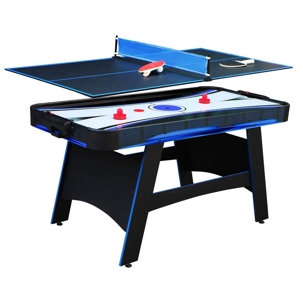 Hathaway Bandit 5' Air Hockey Table with Table Tennis Top